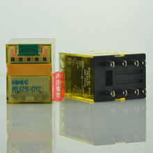 [SA]Japan and the spring IDEC relays with latch lever 10A RU2S-D12 DC12V 2a2b--10pcs/lot(China)