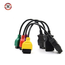 4PCS/lot High Quality fiatecuscan OBD2 Connector Diagnostic Cable For Fiat ECU Scan MultiECUScan Cable for Fiat 500 Punto Lancia