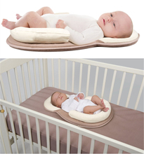 Baby cosysleep Correct Sleeping Position Pillow anatomical sleep positioner Childre Rollover Prevention Mattress 0 to 6months(China)