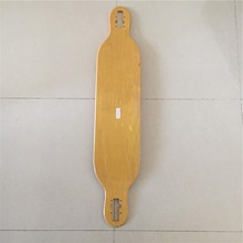 42.125 *8.5 inches OEM Blank Skateboarding Deck Longboard Flat-Plate Deck DIY Skate Decks made by 7 layers Canadian Maples(China)