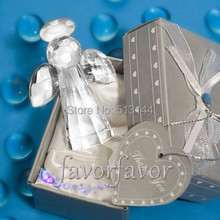 FREE SHIPPING 50PCS Choice Crystal Angel Party Favors Party Supplies Bridal Shower Baby Shower Birthday Gifts Ideas
