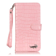 Luxury Crocodile Flip Leather Case For iPhone 5 5S SE 6 6S plus 7 8 Plus Wallet Card Slots Stand Women Handbag Phone Cover