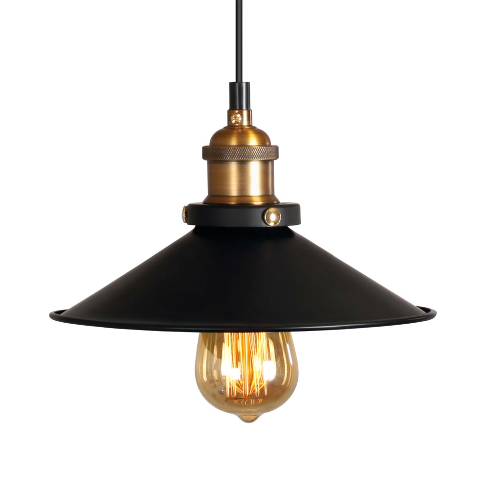 Nordic Industrial Pendant Lamps Retro Art Personality Warehouse Shop Restaurant Bar Black Umbrella Loft Pendant Light E27 Edison<br><br>Aliexpress