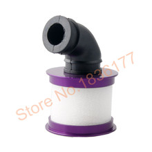 04104 Aluminum Air Filter Engine Parts For HSP Baja 1/10 Nitro Powered RC Truck Car Buggy Himoto  Redcat Exceed Purple