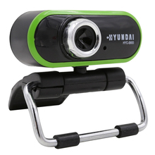 Green Mini hd Webcam 360 degree Rotation Web Cam 22 Mega Pixel with night light microphone Camera For Skype Computer PC Laptop