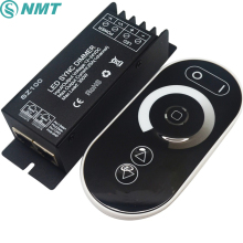 DC12V 24V Led  Touch  controller 1 Channel RF Wireless  25a 300w Led Dimmable Dimmer Remote Controller To Control Led Strip