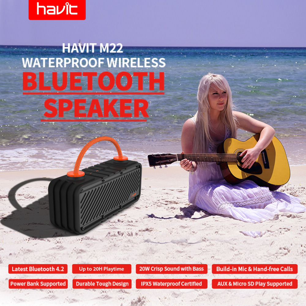Outdoor Bluetooth Speaker 1