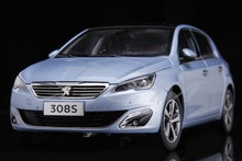 Diecast Car Model Peugeot 308S 1:18 (Blue) + SMALL GIFT!!!!!!!!!!!