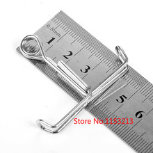 100 pcs / lot Spring seal clip seal latex tube galvanized steel pipe clamps chemical laboratory clamps