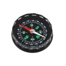 10x Survival Liquid Filled Button Design Compass Derection for Climbing Hiking Camping Sport Useful(China)