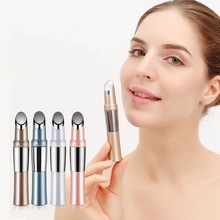 Facial Thermal Heat Face Lift Device Roller Ion Heating Massager Eye Wrinkle Remover Electric Vibration Massage Beauty Pen