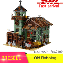 Lepin 16050 210Creative series Old Finishing Store Model Building Blocks set Bricks Toys Children Compatible 2131 - UUCJ&Co Block store