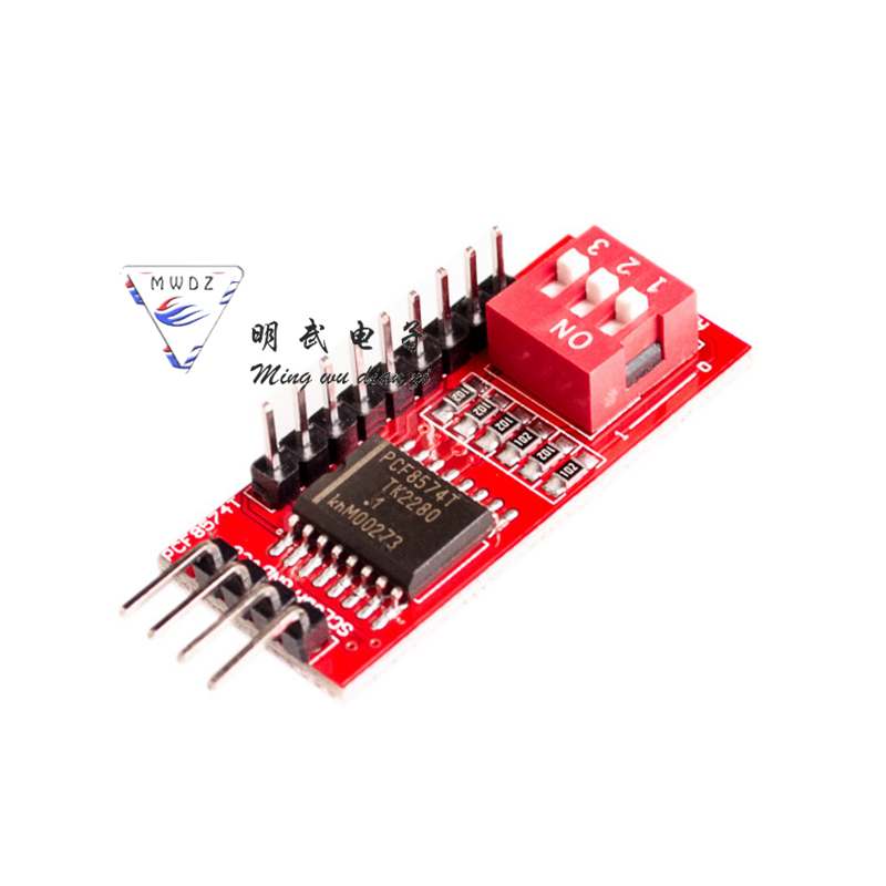 Arduino PCF8574 PCF8574T I/O I2C IIC Port Interface Support Cascading Extended Module Arduino