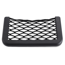 Car Seat Side Back Storage Net Bag Phone Holder Pocket Organizer For SsangYong Actyon  Rodius Rexton  Kyron Musso Sports any car
