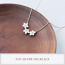 Buy MIESTILO Mother Pearl Shell Flower 925-sterling-silver Chain Statement Necklace Fashion Sterling-Silver-Jewelry Women for $16.00 in AliExpress store