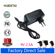 9V 2.5A EU AC Home Adapter Power Supply Wall Charger for PiPo M2 M3 M6Pro M6 M8 3G Tablet PC