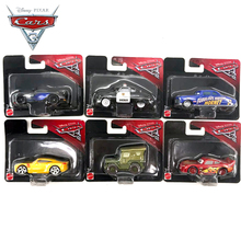 Disney Pixar Cars 3 Plastic Car Models New Roles Lightning McQueen Speed Challenge Jackson Storm Car Toy For Children(China)