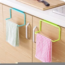 1Pc New Portable Kitchen Cabinet Over Door Hanging Towel Rack Hanging Holder  Bathroom Kitchen Cabinet Cupboard Hanger