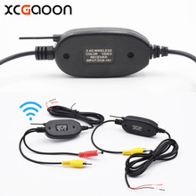 New 2.4G Wireless Transmitter sender Receiver Module adapter for Car Reverse Rear View Camera & Monitor & Car DVD, input DC 12V