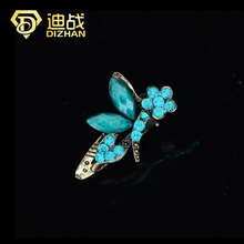 New Fashion Mini Hair Jewelry Vintage Colorful Crystal Rhinestone Dragonfly Hair clips claw Hair Accessories For Women Gift