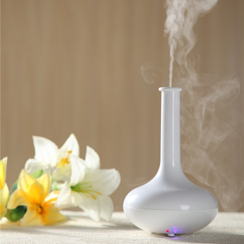 Oil Diffuser Essential Ultrasonic mist maker Humidifier aromatherapy air purifier home furnishings 7 color lamp<br>