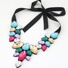 European and American aristocratic temperament fake necklace lace necklace