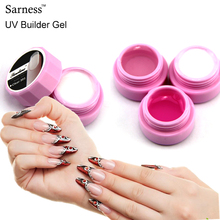 Sarness Semi-Transparent UV Builder Gel Extending Acrylic Nail Gel Polish Camouflage