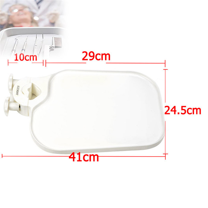 New Plastic Post Mounted Shelf Tray Table Dentistry Chair Accessories Dental Chair Tray<br><br>Aliexpress