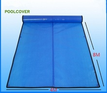 4*8m Customized & wholesale swimming pool cover / solar cover / solar blanket / solar pool cover 400 um,Bubble Cover(China)
