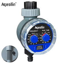 2017 New Arrival Water Timer Upgraded Version Ball Valve with Rain Sensor Hole Garden Irrigation Controller System #21025A(China)