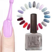 Nail art polish senior gray foolish red wine series nail polish milk gray paint light quick dry Nail polish A5