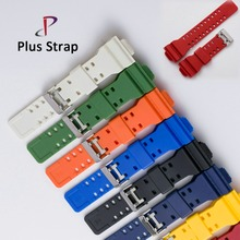 16 mm Watch Band Strap for Casio GA-100 GA-120 GA-120 G-8900 GD-100 GD-120 GA-100C Watches Wristband Replacement(China)