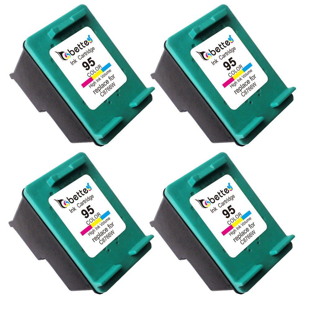 4PK,Ink Printer Cartridges for HP 95 hp95 Officejet 6300 6301 6304 6305 6307 6308 6310 6310v 6310xi 6313 6315 6318 100 150 L511a<br><br>Aliexpress