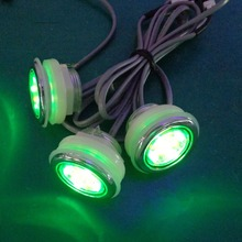 12pcs waterproof  rgb underwater led bath tub led light / led spa lamp with 1pc light controller 1pc 1A adpater