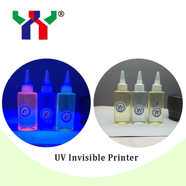 UV Invisible Ink for Printer,Red and Blue each 100ml