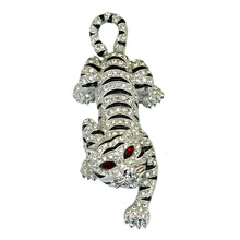 Zodiac tiger Brooch exaggerated men brooch pin jewelry gift for Valentine's Day Accessories costume jewelry brooches