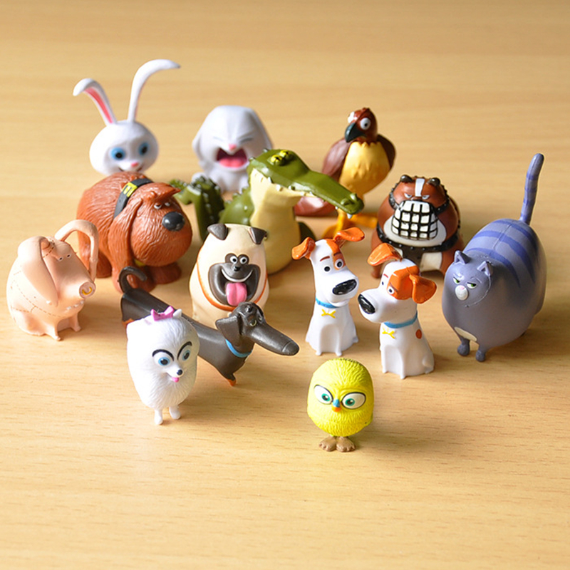 14pcs/set Cartoon Movie PVC Patroll Dogs Action Figure Toys Max Snowball Gidget Mel Chloe Buddy Animals Doll lps Patrulla Canina<br><br>Aliexpress