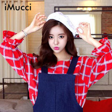 iMucci New Beret Cap Hat Woman Retro French Painter Cross Print Equipped Elegant Ladies Black Hat Top Quality Artistic Pink Hats