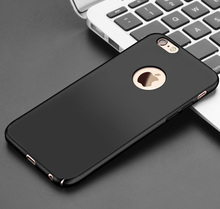 Luxury Matte PC Back Hard Plastic Case For iPhone 7 7Plus 6Plus 6SPlus 6 6S 8 X For SE 5S 5 Colorful Phone cases Full coque case