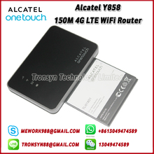 New Original Unlock Alcatel Y858 150Mbps Portable LTE 4G Router With Sim Card Slot Support LTE FDD B1 B3 B7 B8 B20