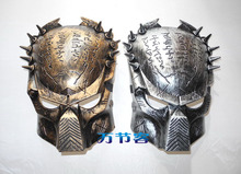 free shipping High quality mask helmet monster mask alien mask color silver and gold(China)
