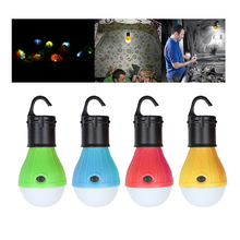 3 LEDs Emergency Camping Tent Lamp Soft White Light LED Bulb Lamp powered AAA batteries Energy Saving Lamp Outdoor Hiking Lanter