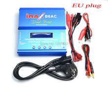 Newest iMAX B6 AC B6AC Lipo NiMH 3S RC Battery Balance Charger with B6AC EU / US Universal Power Cord Power Cable(China)