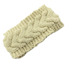 5pcs Winter Beauty Fashion Flower Crochet Knit Knitted Headwrap Headband Ear Warmer Hair Muffs Rubber Band Hair Band Accessories(China)