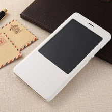 2017 NEW Arrival Phone Case For Huawei Honor Note8 Windows View Cover Flip PU Leather Smart Power Saving Coque For Huawei NOTE8(China)