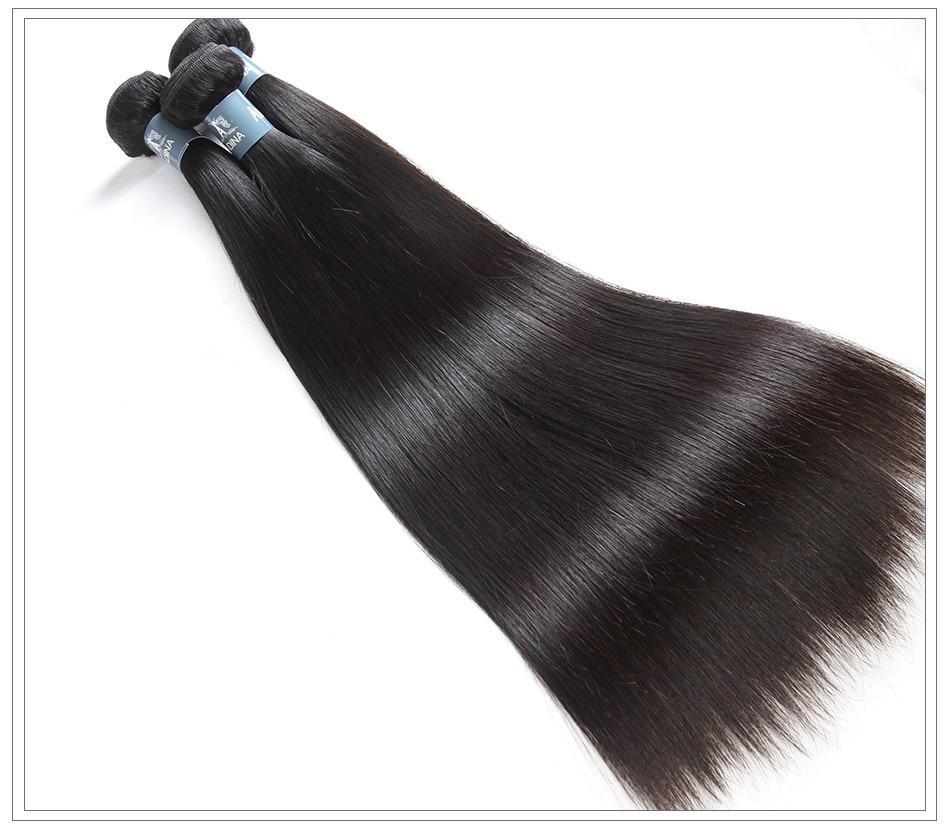 Amanda virgin hair weave straight12