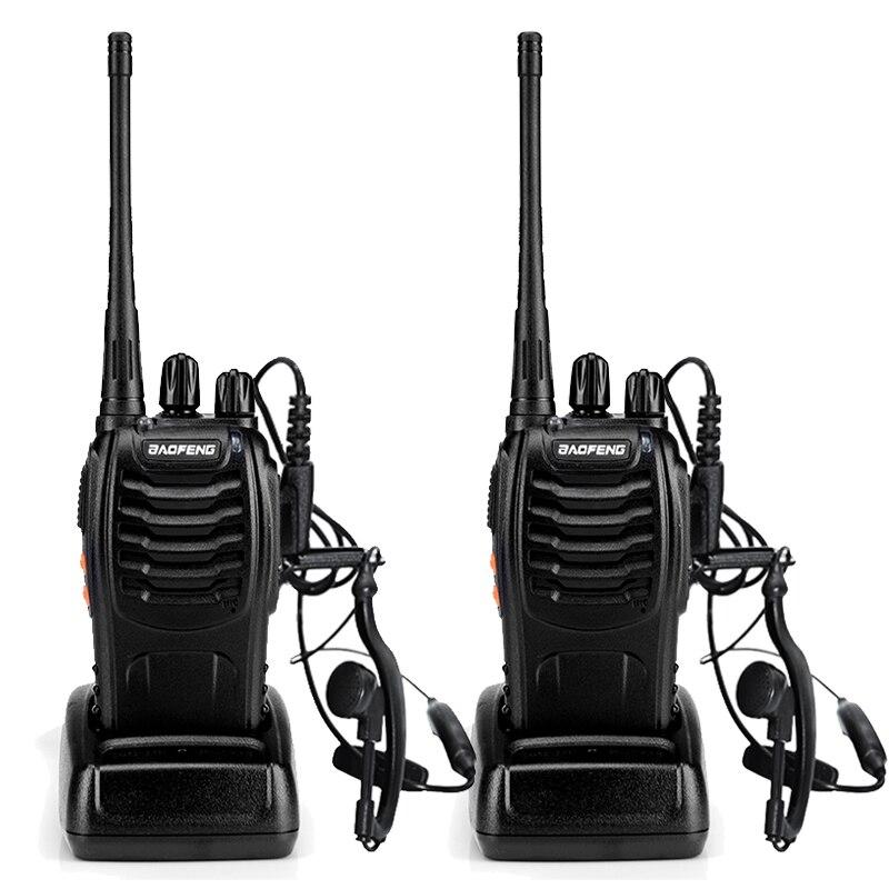 6PCS Baofeng BF-888S Two Way Radio Walkie Talkie Wireless Handheld UHF400-470MHz