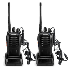 2pcs BaoFeng BF-888S Walkie Talkie UHF400-470MHZ Portable Ham baofeng 888s CB Radio comunicador BF-888S Transceiver(China)