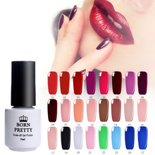 BORN PRETTY Paint Gel Lacquer 5ml Nail Art DIY Soak Off Color Gel UV Led 30 Colors Nail Enamel UV Nail Gel Polish Gel Varnish(China)