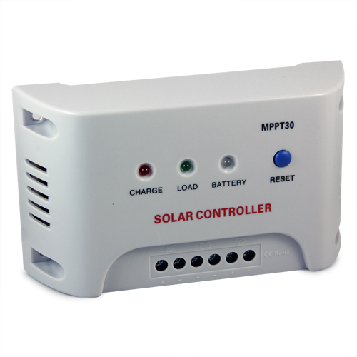 New MPPT Solar Charge Controller Regulator 12V 24V Autoswitch Solar Panel 30A<br>